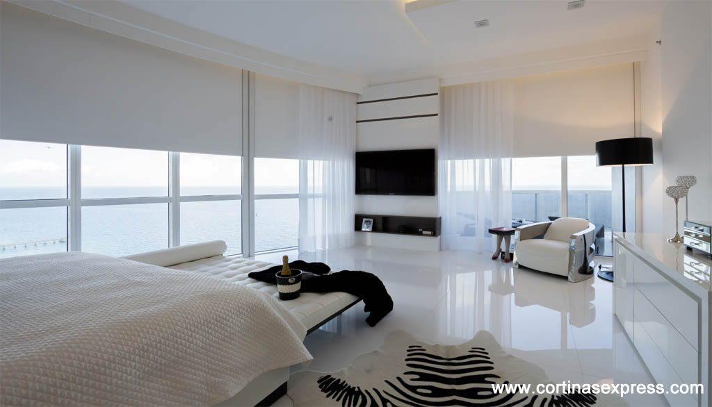 Cortinas roller para dormitorio molyneuxmolyneux - Estores para balcones ...